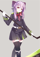 shinoa hiiragi by Kauru00