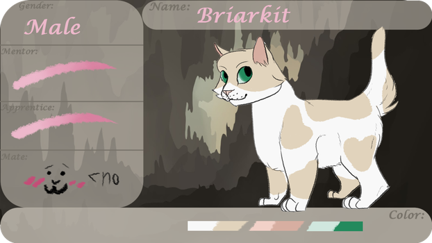 Briarkit Tryout - CaveClan by DrowsyInsomnia
