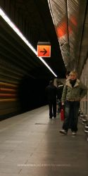 somewhere in metro by sevca