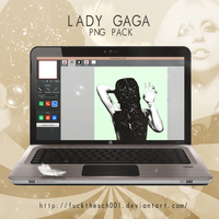 LADY GAGA PNG PACK by Fuckthesch00l