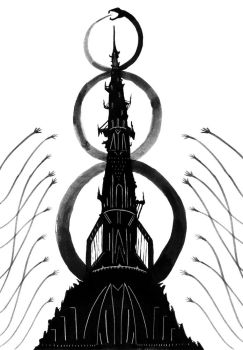 The Fragile Tower by flailingmuse