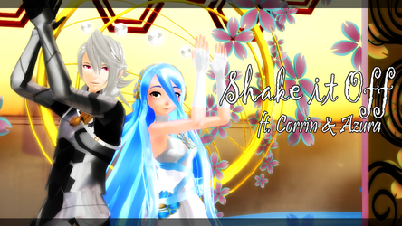 FE:MMD-Shake it Off (TDA Corrin, Azura) by Nintendraw