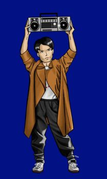 Brian Danielson as Lloyd Dobler by BloodyWilliam