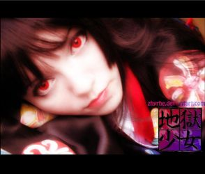 Jigoku Shoujo Cosplay 2 by Zhyrhe