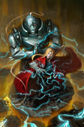 Ed and Al Elric by LorennTyr