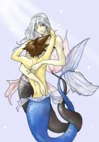 Riku and Sora- Atlantica by Zairal