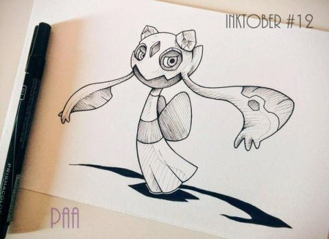 Inktober 2016 - 12 by Paa-H