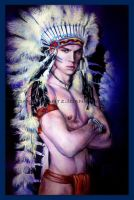 Sexy American Indian by LilDevilAriel