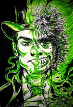 Drawlloween DAY #20 - Dr. Jekyll and Mr. Hyde by Tatmione