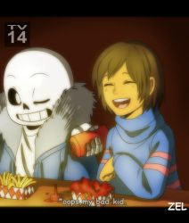 Undertale- At Grillby's by zeldaprincessgirl100