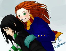 Lily and Severus by MsAuditore