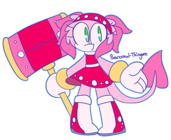 (contest entry) amy but she's an axolotl by paranormal-thingum