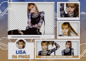 [PNG PACK #669] Lisa - BLACKPINK (180708) by fairyixing