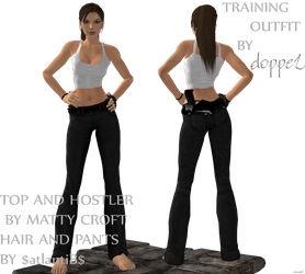 lara training outfit by doppeL-zgz