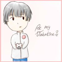 Be my Valentine? *APH-Japan* by MischievousRibbon