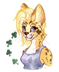 Serval Gal by owlburrow