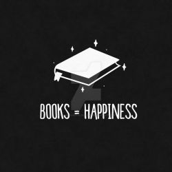 Books Equal Happiness (RedBubble Design)