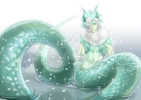 The Frost Naga , Vidaar by Fah-renheit