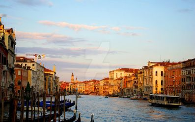 Venice - Grand Canale / February by nagehan