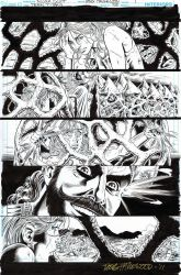 TEEN TITANS 95 Pg 1-Cassie in heap of trouble-$75 by DRHazlewood