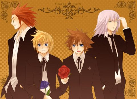 KH2- Something from the Boys by meru-chan