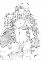 Red Sonja by CaioMarcus-ART