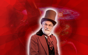 Sir Terry Pratchett - In Memoriam by ApplePurist