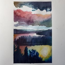 Some Boring Ass Painting Of a Landscape by Die-Kraeuterhexe