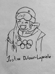 Medalists and More: Justine Dufour-Lapointe by TheOtherBillionaire
