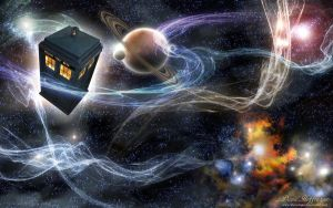 Doctor Who Space Travel by DavidHoffrichter