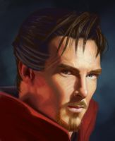 Dr-Strange by YueQing