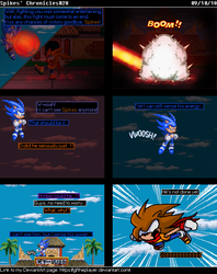 Spikes' Chronicles#28: Surprise attack! by GFTheplayer