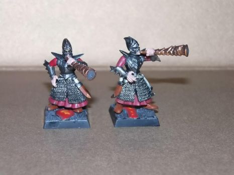 Commission Dark Elves Chess Figures by fips001