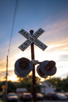 Railroad Crossing by dallasgutauckis