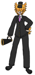 [A Hat In Time] The Conductor- (Hooman Fanart) by Chao11