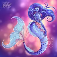 Mermaid Alien Girl  [+Speedpaint] by Geminine-nyan