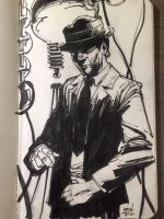 Kolchak Night Sketch by aminamat