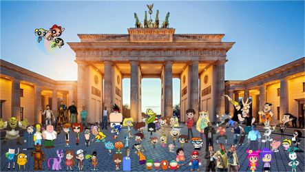 Crossover and Game City World Tour Berlin by xxphilipshow547xx