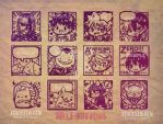 New Stamp collection by jinyjin