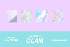 + GLAM - PATTERNS + by LittleDr3ams