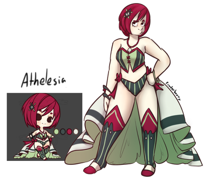 Athelesia by powderberry