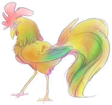 Demon Rooster Adopt ! (closed) by Mayzie11