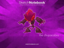 SKNB Desktop Chupacabra by WarBrown