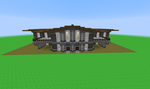 Large Library Exterior by 8bloodpetals