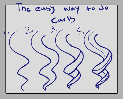 Tutorial  Curls by OnTheCheapAdopts