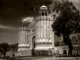 Lahore Fort by InayatShah
