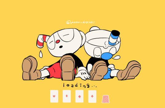 Sleeping Mugs by PandaHero-Peke