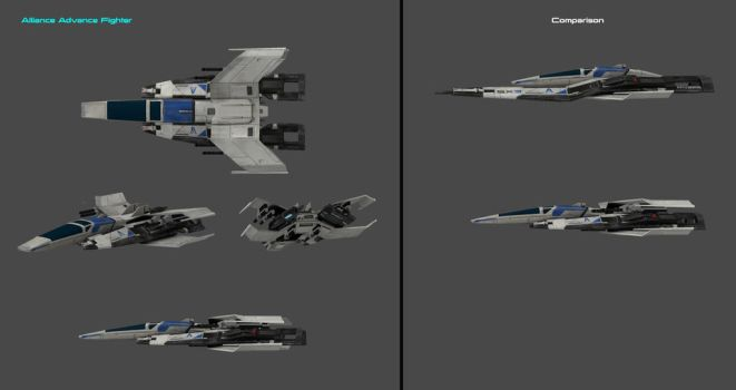 Alliance Advance Fighter by nach77