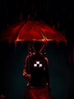 [Yume Nikki] It's raining. by ProtoRC