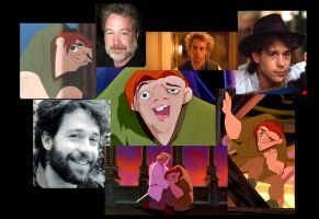 Quasimodo and Tom Hulce by MandyB82
